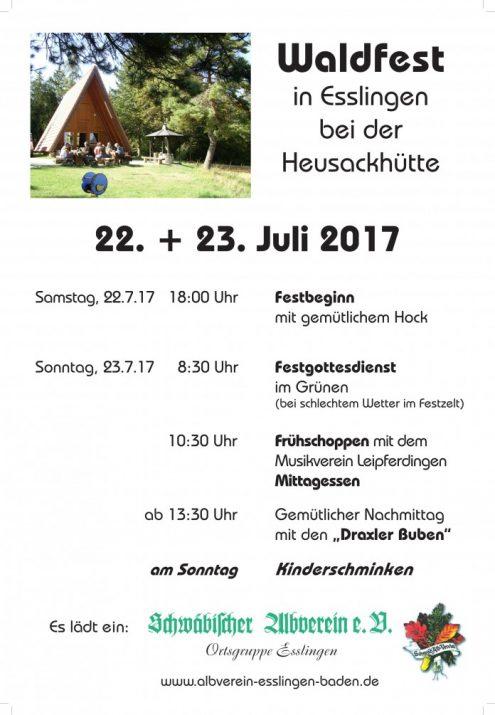 2017 Waldfest