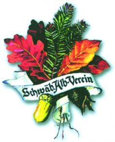 Das Wappen des Schwäbischen Albvereins